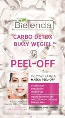 Picture of Bielenda CarboDetox Bialy Wegiel maska peel-off 2x5g
