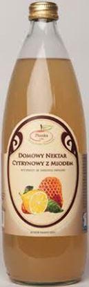 Picture of DOMOWY NEKTAR CYTRYNOWY Z NATURALNYM MIODEM 860ML PLONKA