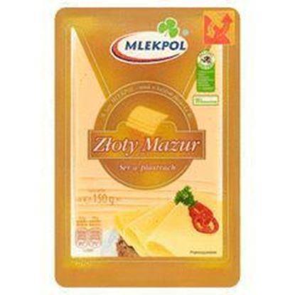 Picture of SER ZLOTY MAZUR PLASTRY TWARDY 150G MLEKPOL