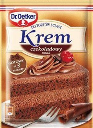 Picture of KREM DO TORTOW CZEKOLADOWY 140G DR.OETKER