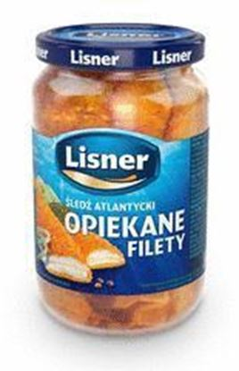 Picture of OPIEKANE FILETY SLEDZIOWE 700G LISNER