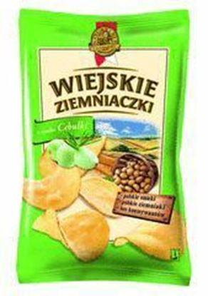 Picture of CHIPSY WIEJSKIE ZIEMNIACZKI CEBULKA 130G LORENZ