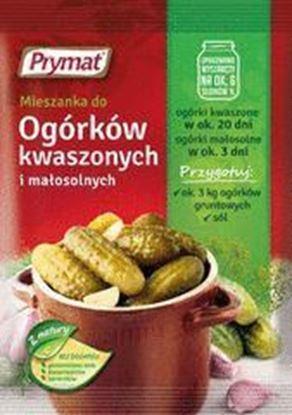 Picture of PRZYPRAWA DO OGORKOW KWASZONYCH I MALOSOLNYCH 40G PRYMAT