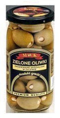 Picture of OLIWKI GRECKIE ZIELONE NADZIEWANE MIGDALAMI W ZALEWIE 350G MK