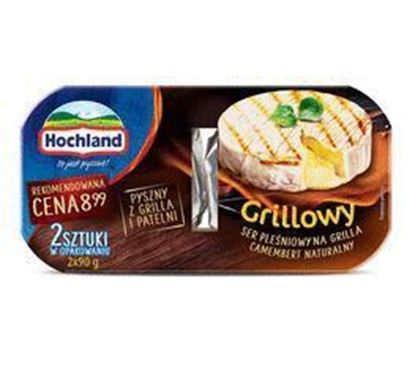 Picture of SER PLESNIOWY NA GRILLA CAMEMBERT NATURALNY 2*90G HOCHLAND