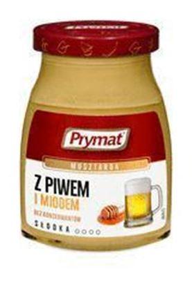 Picture of MUSZTARDA Z PIWEM I MIODEM 180G PRYMAT