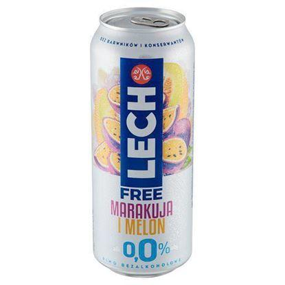 Picture of LECH FREE MARAKUJA I MELON 500ML PUSZKA