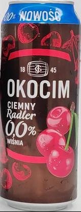 Picture of PIWO OKOCIM RADLER CIEMNY 0% WISNIA PUSZKA 500ML