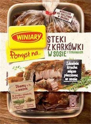 Picture of FIX POMYSL NA... STEKI Z KARKOWKI W SOSIE Z TYMIANKIEM 44G WINIARY