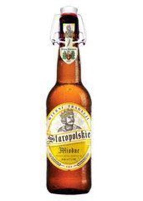 Picture of PIWO STAROPOLSKIE MIODNE ALC 4.7% BUTELKA 500NL BROWAR STAROPOLSKI