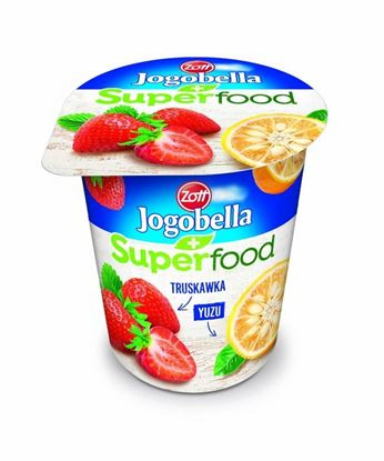 Picture of JOGURT JOGOBELLA SUPERFOOD TRUSKAWKA-YUZU 150G ZOTT