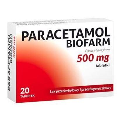 Picture of PARACETAMOL 500mg, 20 TABL