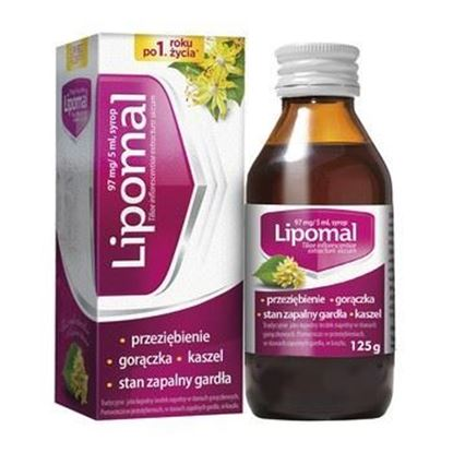 Picture of Lipomal, 97 mg/5 ml, syrop, 125 g