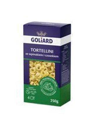 Picture of TORTELLINI ZE SZPINAKIEM I CZOSNKIEM 250G GOLIARD