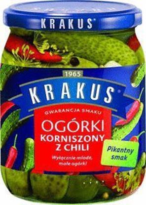 Picture of OGORKI KORNISZONY Z CHILI KRAKUS 500G MASPEX