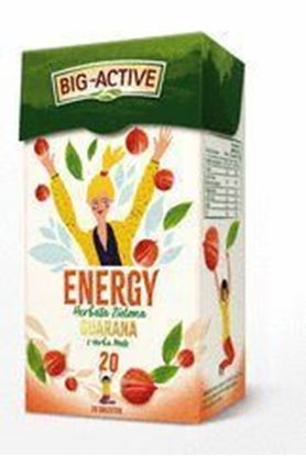 Picture of HERBATA ZIELONA ENERGY GUARANA Z YERBA MATE BIG-ACTIVE 20*1.5G HERBAPOL