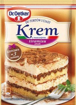 Picture of KREM DO TORTOW TIRAMISU 122G DR.OETKER