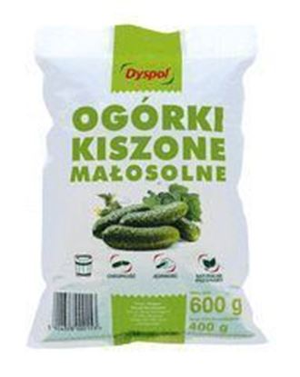 Picture of OGORKI KISZONE MALOSOLNE 400G DYSPOL