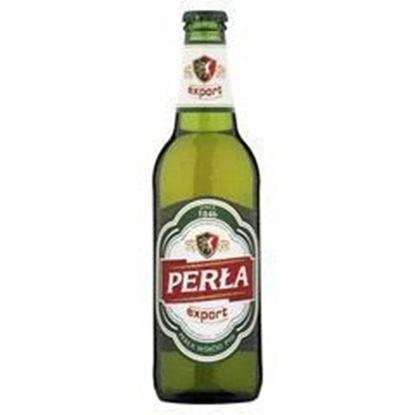 Picture of PIWO PERLA EXPORT ALC 5.6% BUTELKA 500ML PERLA