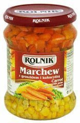 Picture of MARCHEW Z GROSZKIEM I KUKURYDZA 500ML ROLNIK