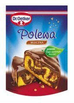 Picture of POLEWA MLECZNA CZEKOLADA 100G DR.OETKER
