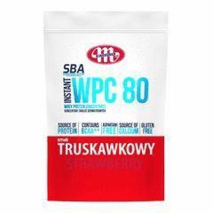 Picture of SBA WPC 80 KONCENTRAT BIALEK SERWATKOWYCH SMAK TRUSKAWKOWY 700G MLEKOVITA