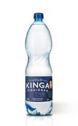 Picture of WODA KINGA PIENINSKA MINERALNA GAZ 1,5L OSHEE