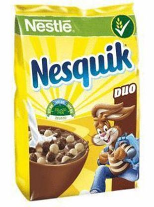 Picture of PLATKI NESQUIK DUO Z BIALA CZEKOLADA 225G PACIFIC NESTLE