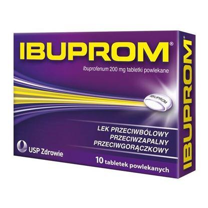 Picture of Ibuprom, 200 mg, tabletki powlekane, 10 szt.