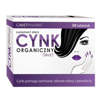 Picture of Cynk Organiczny Avet, tabletki, 30 szt.