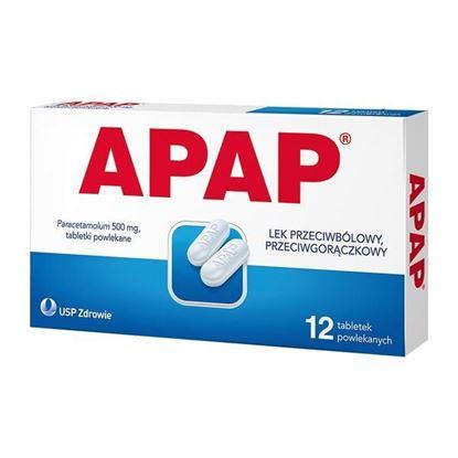 Picture of Apap, 500 mg, tabletki powlekane, 12 szt.