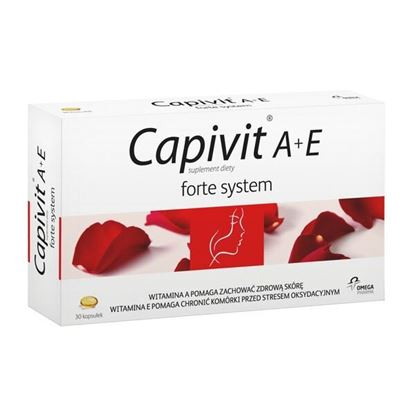 Picture of Capivit A+E Forte System, kapsułki, 30 szt.