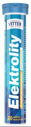 Picture of Elektrolity, Vitter Blue, 20 tabletek musujących