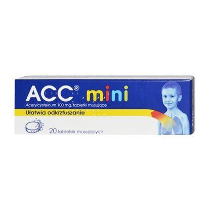 Picture of ACC mini, 100 mg, tabletki musujące, 20 szt.