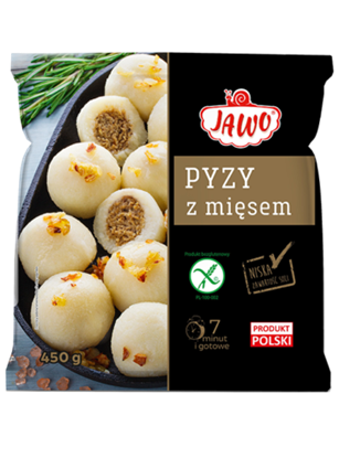 Picture of JAWO Pyzy z miesem (450g)