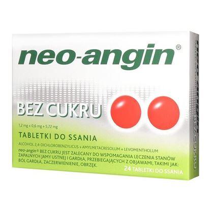 Picture of Neo-Angin bez cukru, tabletki do ssania, 24 szt.