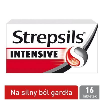 Picture of Strepsils Intensive, tabletki do ssania, 16 szt.