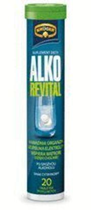 Picture of TABLETKI MUSUJACE ALKO REVITAL PO SPOZYCIU ALKOHOLU 84G KRUGER