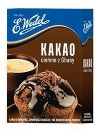 Picture of KAKAO CIEMNE Z GHANY 80G WEDEL