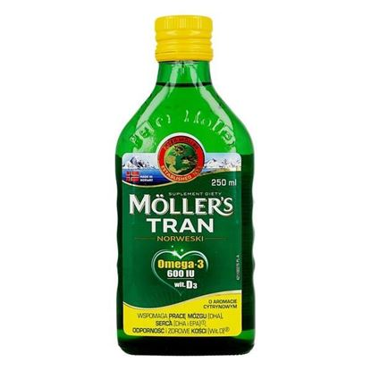 Picture of Mollers Tran Norweski, aromat cytrynowy, 250 ml