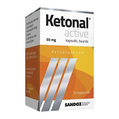 Picture of Ketonal Active, 50 mg, kapsułki twarde, 10 szt.