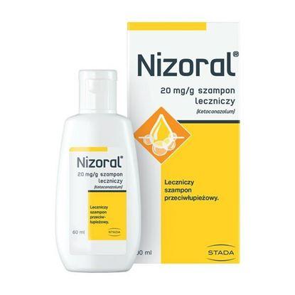Picture of Nizoral, 20 mg/g, szampon leczniczy, 60 ml (butelka)
