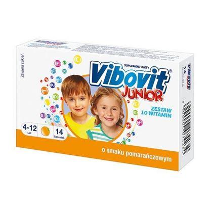 Picture of Vibovit Junior, proszek o smaku pomarańczowym, 14 saszetek