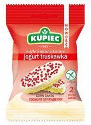 Picture of WAFLE KUKURYDZIANE JOGURT TRUSKAWKA 32,5G KUPIEC