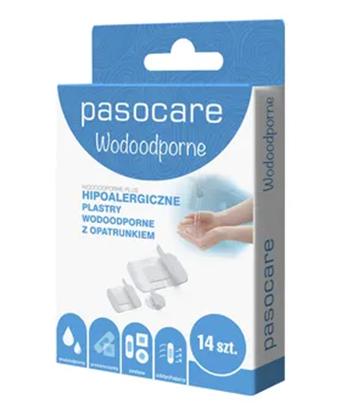 Picture of Pasocare Wodoodporny, zestaw plastrów hipoalergicznych, 14 elementów